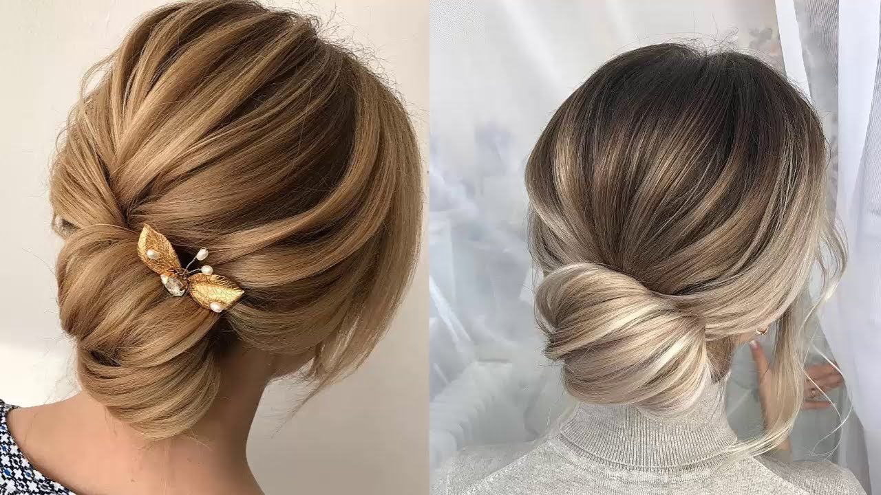 Beauty Tips Bridal And Wedding Hairstyles For Long Or: Bun Hairstyles